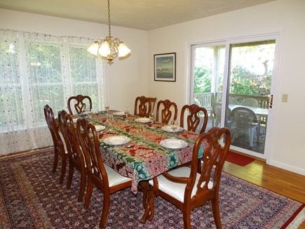 Harwich Cape Cod vacation rental - Dine inside or out on the deck