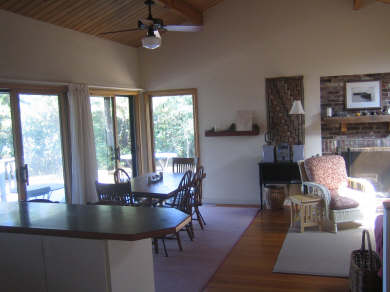 Wellfleet Cape Cod vacation rental - Dining & Living