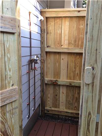 Falmouth Village Cape Cod vacation rental - Outdoor Shower - you'll never want to shower inside again!