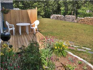 Chatham Cape Cod vacation rental - Deck & Yard