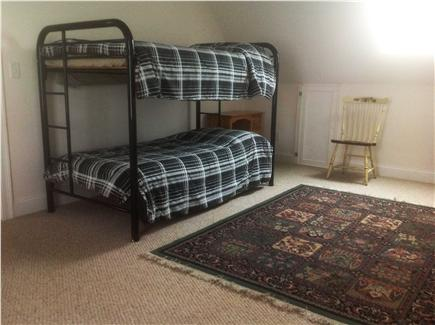 West Hyannisport Cape Cod vacation rental - Bunk room has set of bunks. Play table and games other side