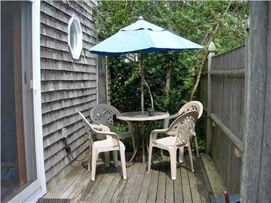 Provincetown Cape Cod vacation rental - Enter onto the deck