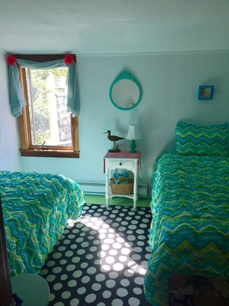 West Yarmouth-Lewis Bay Cape Cod vacation rental - Cozy twin bedroom.