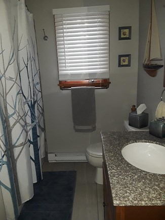 Wellfleet, Indian Neck Cape Cod vacation rental - Downstairs full bathroom with bathtub