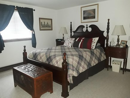 Wellfleet, Indian Neck Cape Cod vacation rental - Master bedroom upstairs with queen bed