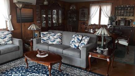 Wellfleet, Indian Neck Cape Cod vacation rental - Open living room/dining room