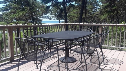 Wellfleet, Indian Neck Cape Cod vacation rental - Water view from deck