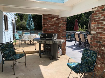 Eastham Cape Cod vacation rental - Webber Grill and outdoor covered patio on deck