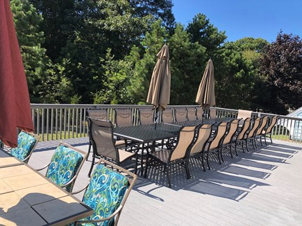 Eastham Cape Cod vacation rental - Outdoor seating with plenty of room for barbeques!