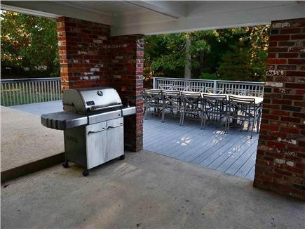 Eastham Cape Cod vacation rental - Huge Deck with Trex and Weber Grill!