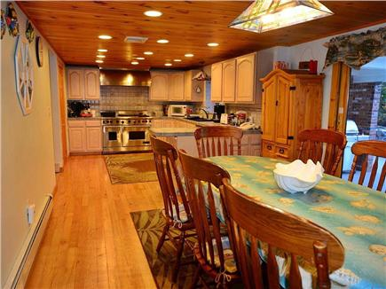 Eastham Cape Cod vacation rental - Dining room looking into kitchen