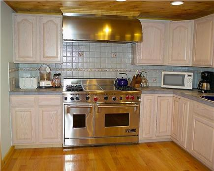 Eastham Cape Cod vacation rental - Kitchen with upscale cooking range