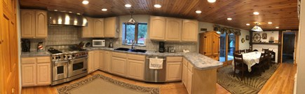 Eastham Cape Cod vacation rental - Kitchen in main house