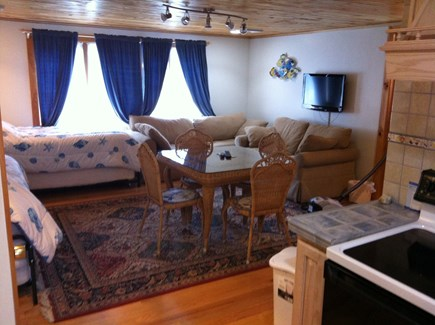 Eastham Cape Cod vacation rental - In-Law Apt Living Room