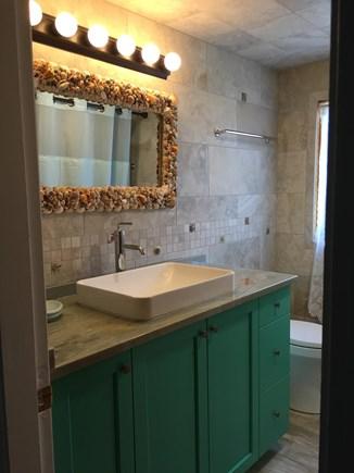 Eastham Cape Cod vacation rental - Upstairs Bathroom