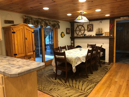 Eastham Cape Cod vacation rental - Main House dining room