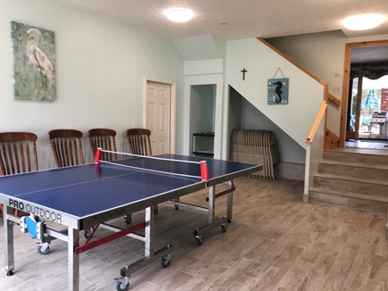 Eastham Cape Cod vacation rental - New game room with competition ping pong and table games!