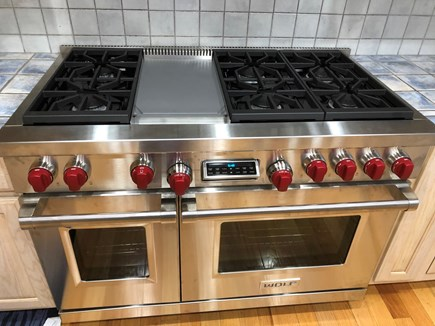 Eastham Cape Cod vacation rental - 2019 Wolf Range brand new for a professional cooks kitchen!