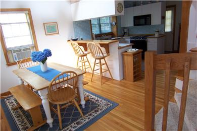 New Seabury/ Popponesset New Seabury vacation rental - Dining area and kitchen