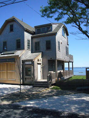 Provincetown Cape Cod vacation rental - View of house from Commercial St