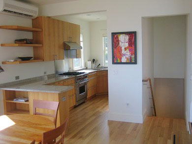 Provincetown Cape Cod vacation rental - Complete kitchen- sink, bar sink, Wolf stove, +Sub Zero Fridge