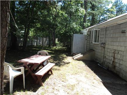 South Dennis Cape Cod vacation rental - Large Back Yard - Grill - Picnic Table for family cook outs