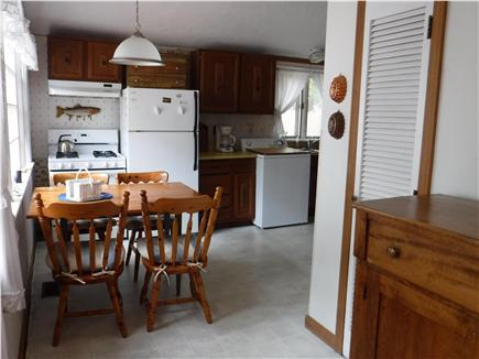 South Dennis Cape Cod vacation rental - Expandable table for a family dinner and conversation