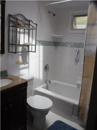 South Dennis Cape Cod vacation rental - New Full Bath with Large Tub and Shower and Sky Light