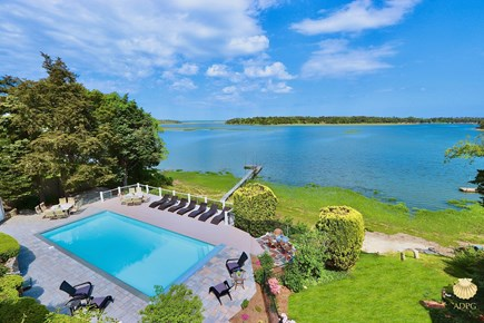 East Orleans Cape Cod vacation rental - View =from the roof top deck