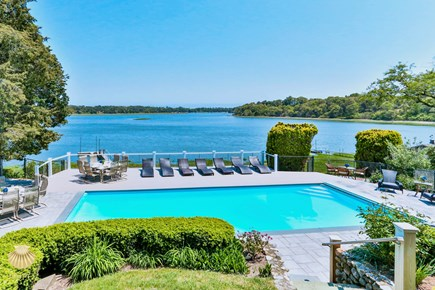 East Orleans Cape Cod vacation rental - Enter the Estate that feels like a boat with Panoramic water view