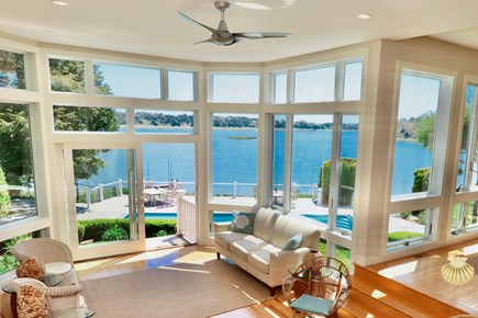 East Orleans Cape Cod vacation rental - Panoramic views from the Great Room-24'x15'