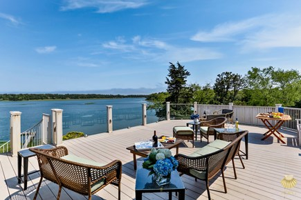 East Orleans Cape Cod vacation rental - Panoramic views from the Roof top deck-29'x19'