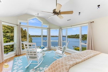 East Orleans Cape Cod vacation rental - Great Blue Heron Suite - ensuite bath with King bed