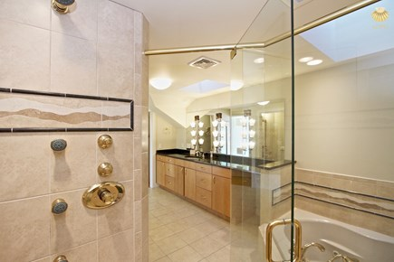 East Orleans Cape Cod vacation rental - Swan En-suite bath from the large 6 jet shower