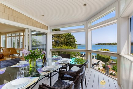 East Orleans Cape Cod vacation rental - Screened in Porch - Relax and enjoy the breeze