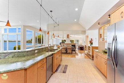 East Orleans Cape Cod vacation rental - View from the Kitchen