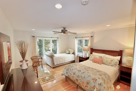 East Orleans Cape Cod vacation rental - Seal Master Suite - ensuite bath, Queen & twin trundle bed;