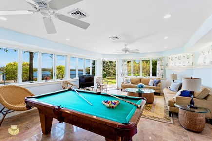 East Orleans Cape Cod vacation rental - Game Room 25'x19' - with elevator access