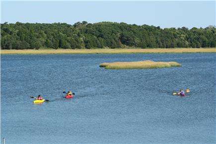 East Orleans Cape Cod vacation rental - Kayak to the house