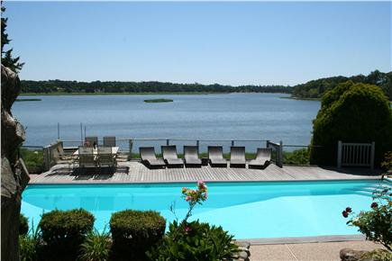 East Orleans Cape Cod vacation rental - View from the steps of the sunken living room.