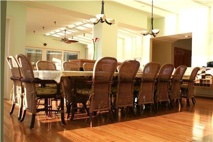 East Orleans Cape Cod vacation rental - Dine with your friends and family at the table that sits 16!