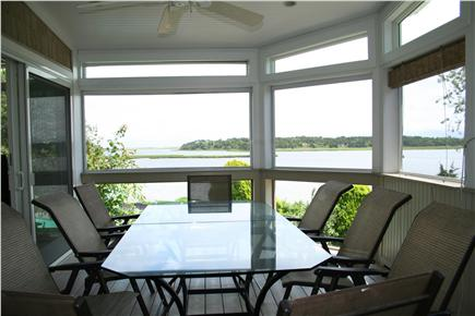 East Orleans Cape Cod vacation rental - Screened in Porch