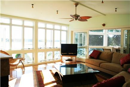 East Orleans Cape Cod vacation rental - Relax  in the Living  Room