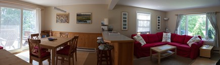 Wellfleet Cape Cod vacation rental - Living/Dining Room