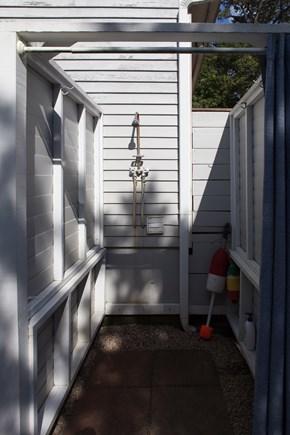 Wellfleet Cape Cod vacation rental - Outdoor shower!