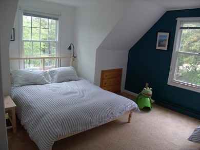 Wellfleet Cape Cod vacation rental - Large upstairs bedroom, also has 2 twin beds