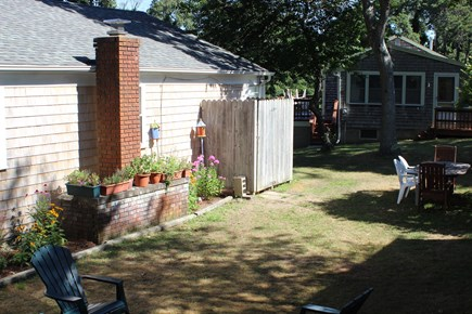 Harwich Port Cape Cod vacation rental - Outdoor shower, two grills, games and more.