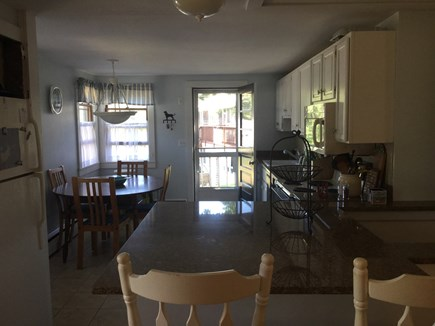 Harwich Port Cape Cod vacation rental - Bright kitchen - stocked with major appliances.