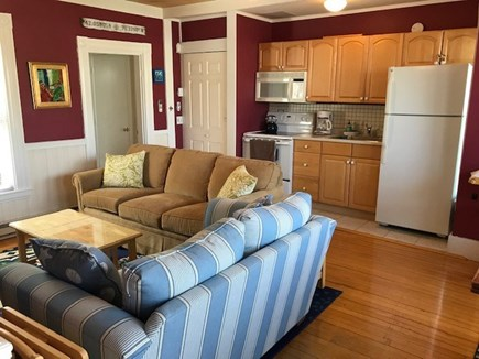 Provincetown Cape Cod vacation rental - Comfort Within Steps of Town. Open Living & Dining Room