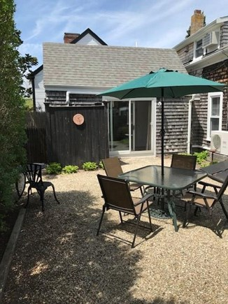 Provincetown Cape Cod vacation rental - Inviting Private Patio with Outdoor Shower